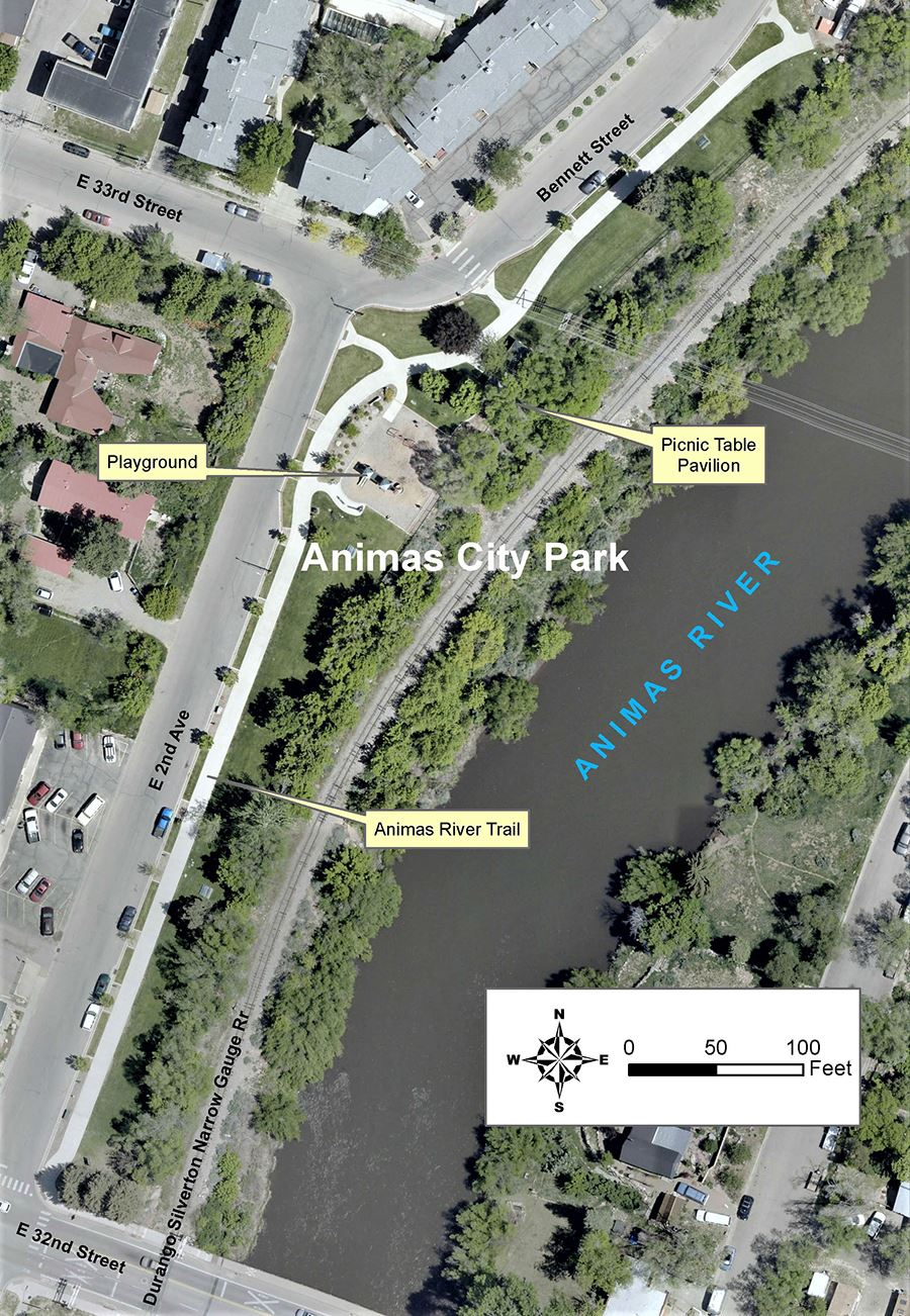 Animas City Park Aerial Image2
