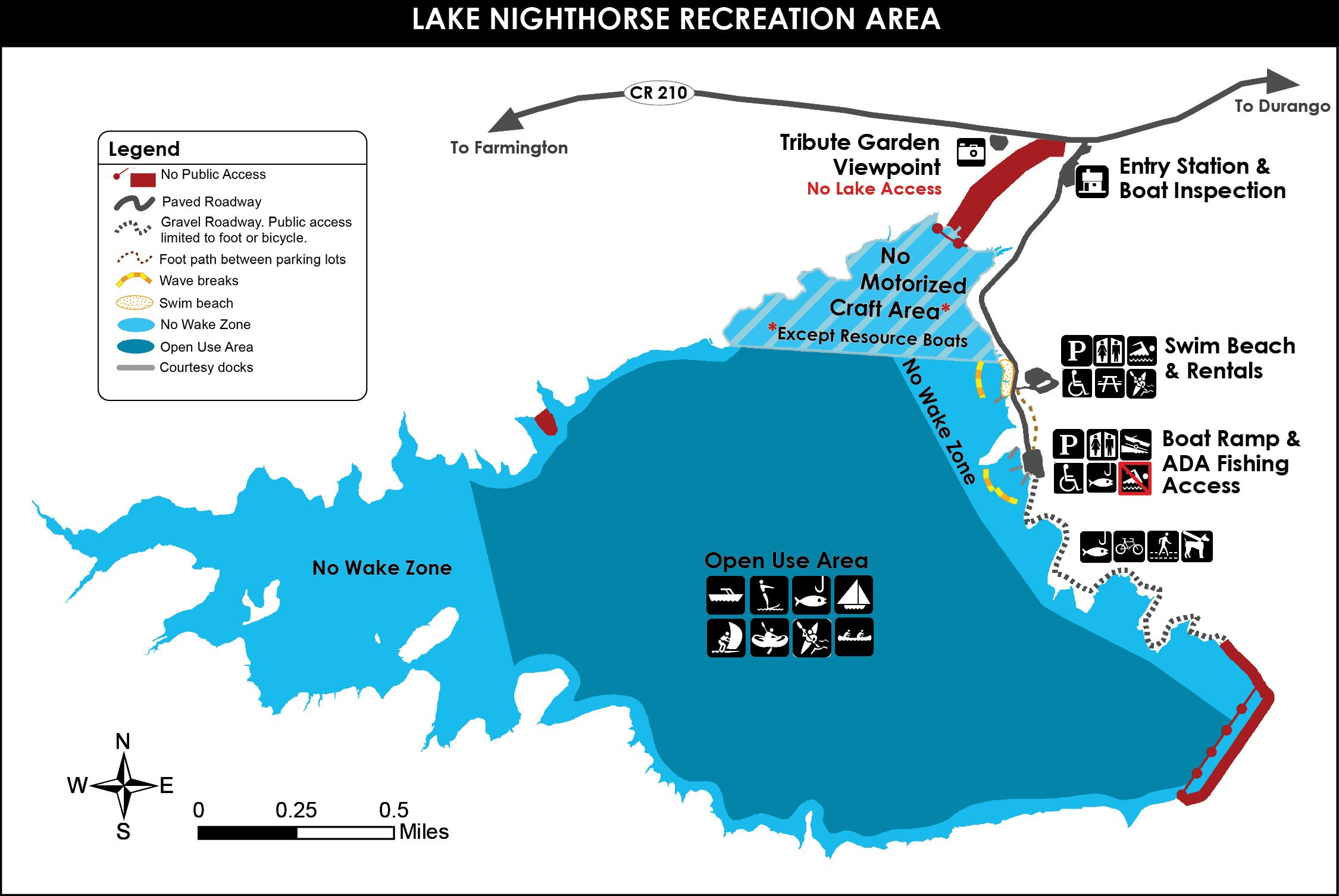 Lake Nighthorse 2021 Brochure MAP